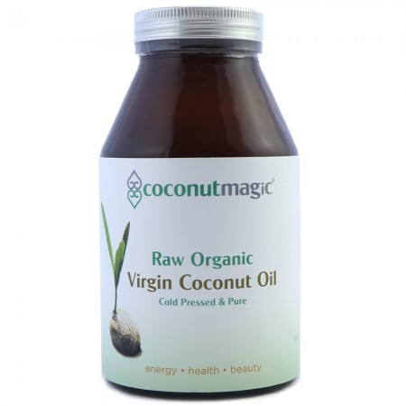 Coconut Magic 500ml pure organic virgin raw coconut oil
