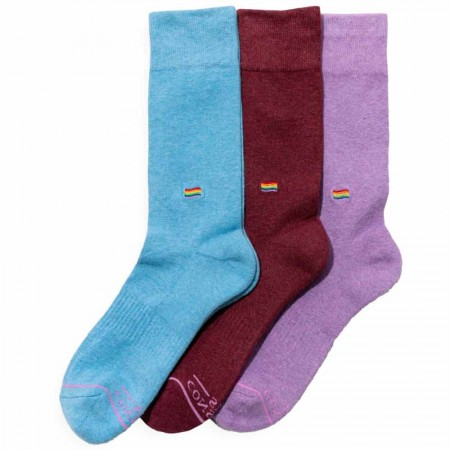 Conscious Step Collection 3pk - Socks That Save LGBTQ Lives