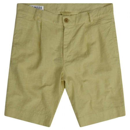 Komodo Bobby Pleat Short - Palm Green
