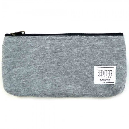 Beekeeper Parade Pencil Case - Quilted Grey