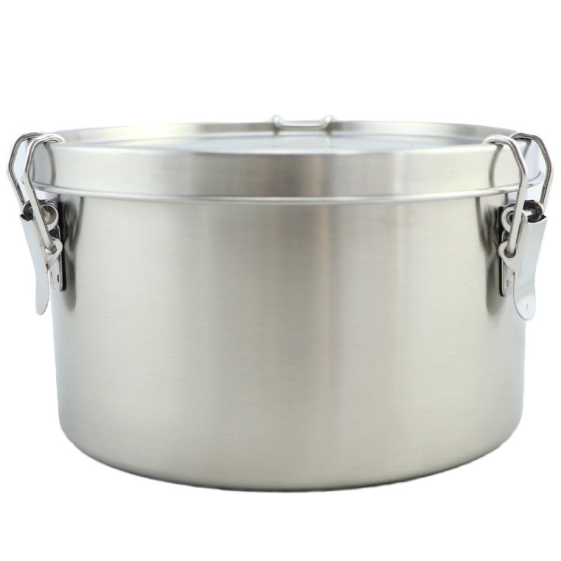 Good to Go Round Leakproof Stainless Steel Container - 1800ml 17cm D
