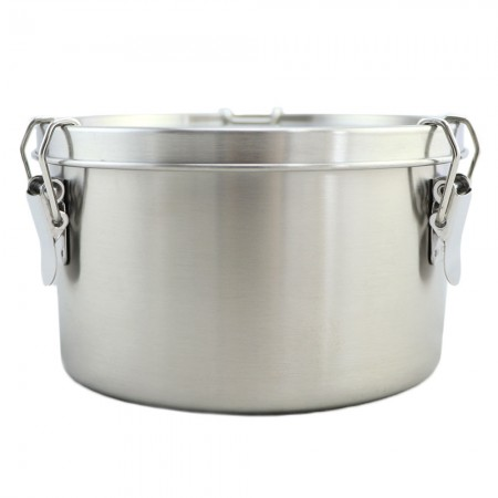 Good to Go Round Leakproof Stainless Steel Container - 1200ml 13.8cm D