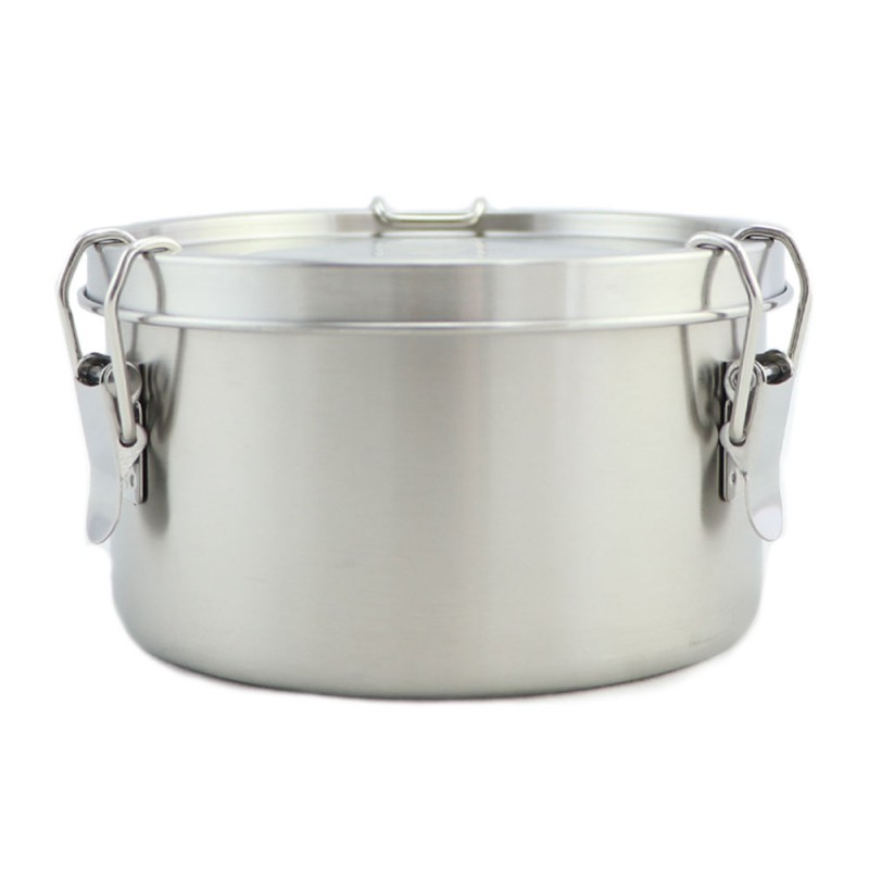 Good to Go Round Leakproof Stainless Steel Container - 780ml 13cm D
