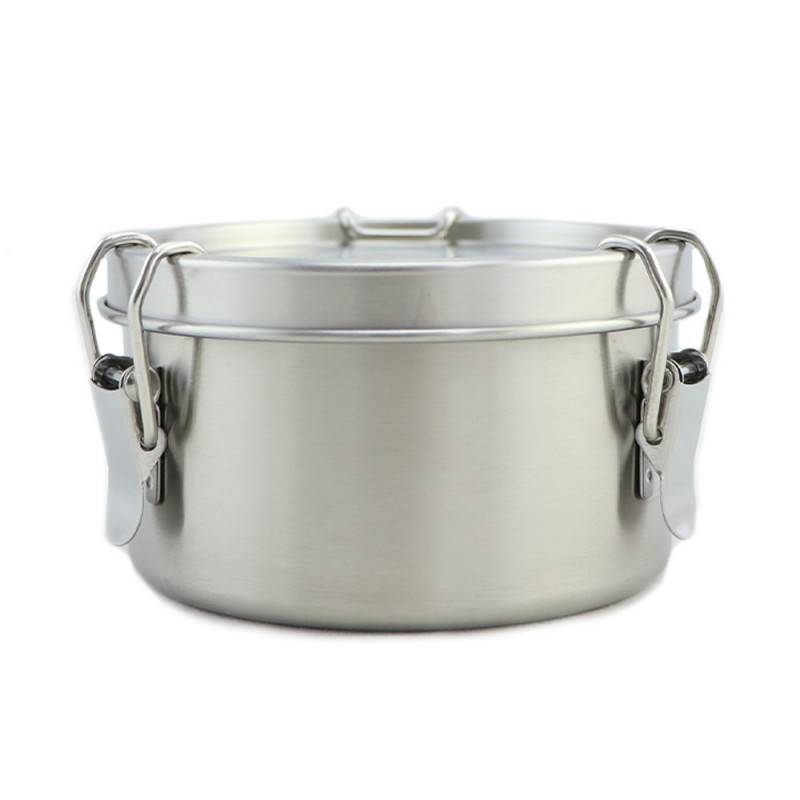 Good to Go Round Leakproof Stainless Steel Container - 480ml 11.5cm D