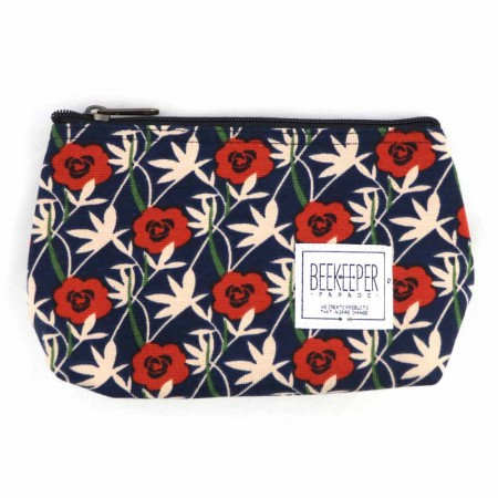 Beekeeper Parade Makeup Bag Small - Roses Are Red