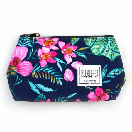 Beekeeper Parade Makeup Bag Small - Secret Garden