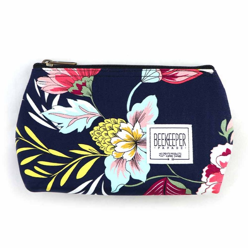 Beekeeper Parade Makeup Bag Small - Wildflower
