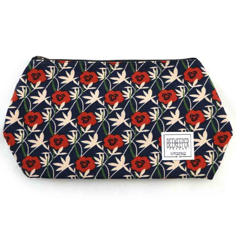 Beekeeper Parade Makeup Bag Large - Roses Are Red