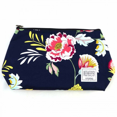 Beekeeper Parade Makeup Bag Large - Wildflower