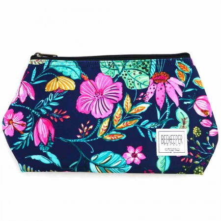 Beekeeper Parade Makeup Bag Large - Secret Garden