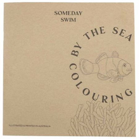 Someday Swim Colouring By The Sea