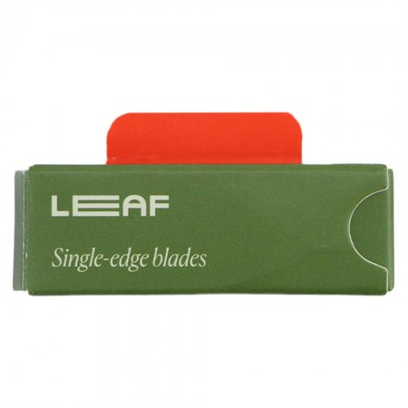 Leaf Shave Razor Blades Single Edge 10pk