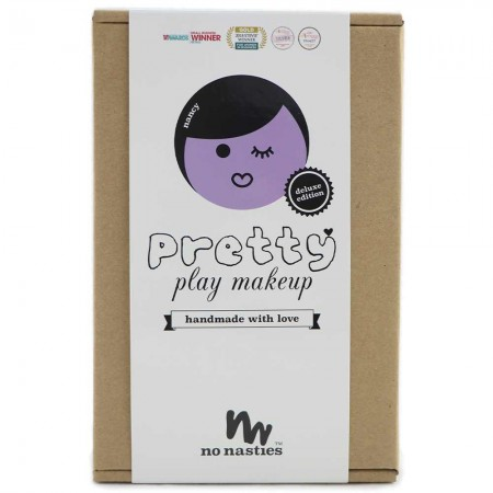 No Nasties Pretty Play Makeup - Nancy 10 piece Lavender/Blue