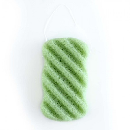 Konjac Sponge Body Wave - Green Tea