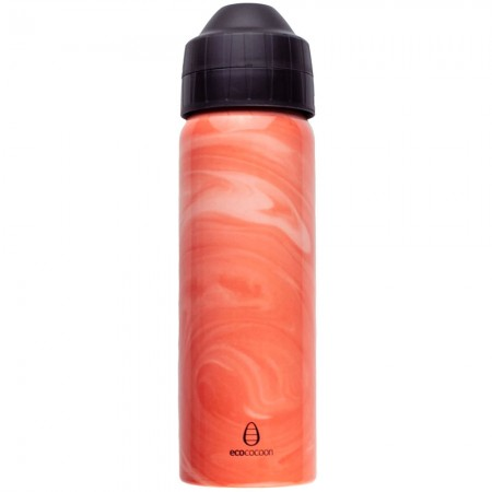 Ecococoon Stainless Steel Water Bottle 600ml - Coral Cove