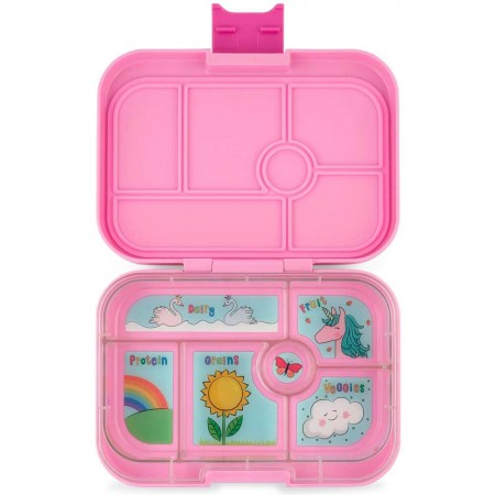 Yumbox Original Lunch Box 6 Compartment - Power Pink