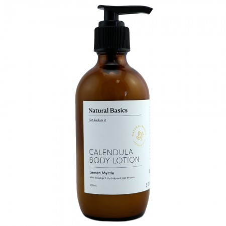 Natural Basics Calendula Body Lotion - Lemon Myrtle