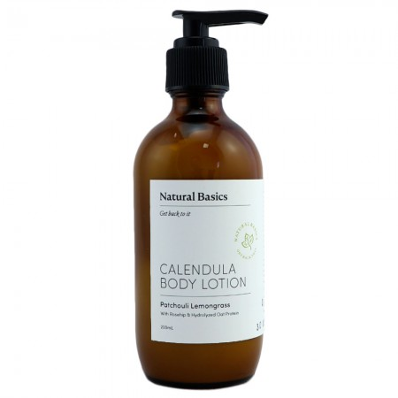 Natural Basics Calendula Body Lotion - Patchouli Lemongrass