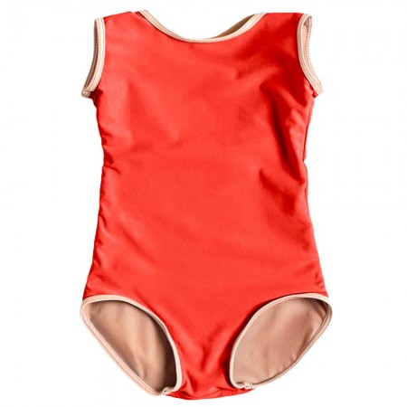 Someday Swim Sunday Funday One Piece - Red
