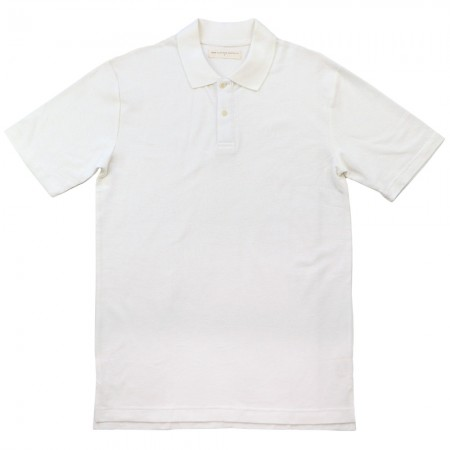 Hemp Clothing Australia Mens Tall Polo - White