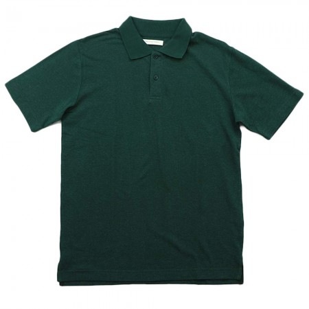 Hemp Clothing Australia Mens Reg Polo - Forest