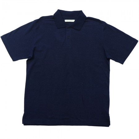 Hemp Clothing Australia Mens Regular Polo - Navy