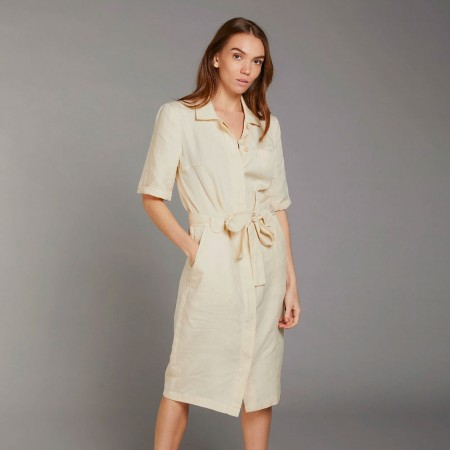 Komodo Linlin Shirt Dress - Warm Sand