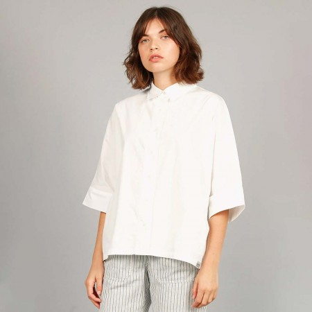 Komodo Organic Cotton Shirt - White