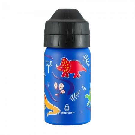 EcoCocoon Stainless Steel Water Bottle 350ml - Dinoland