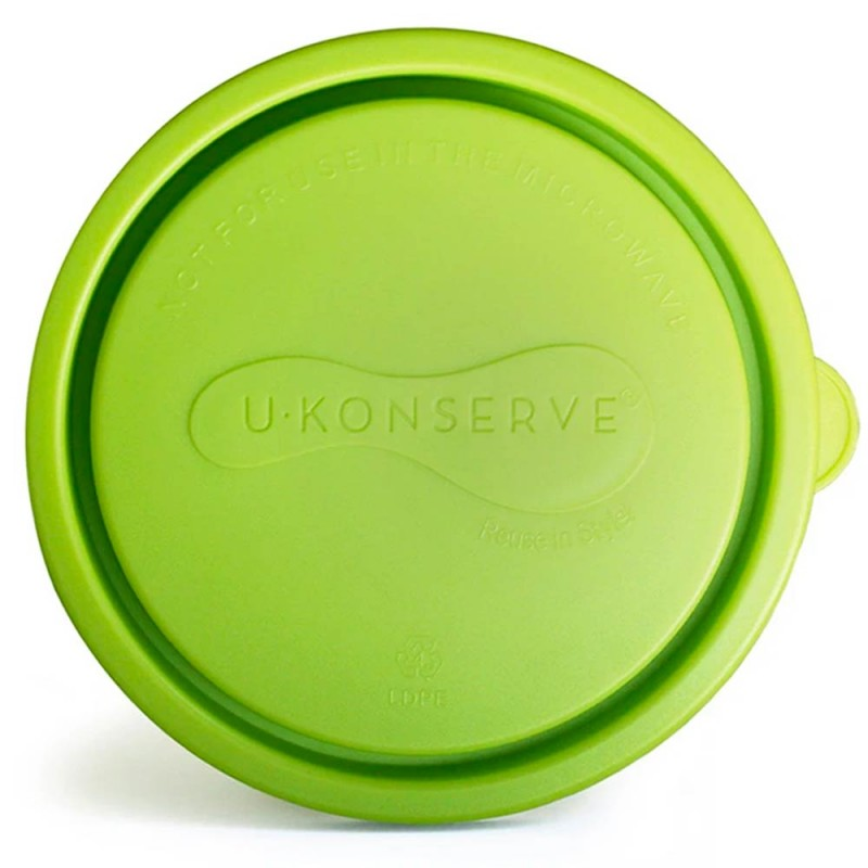 U Konserve Round LGE 16oz Replacement Lid Lime