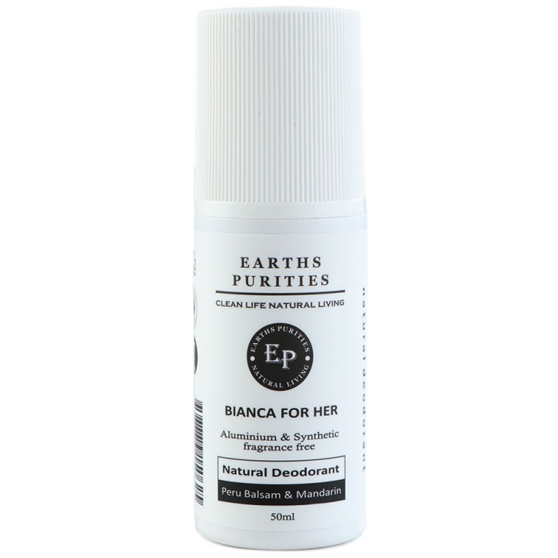 Earths Purities Roll-On Deodorant - Bianca For Her
