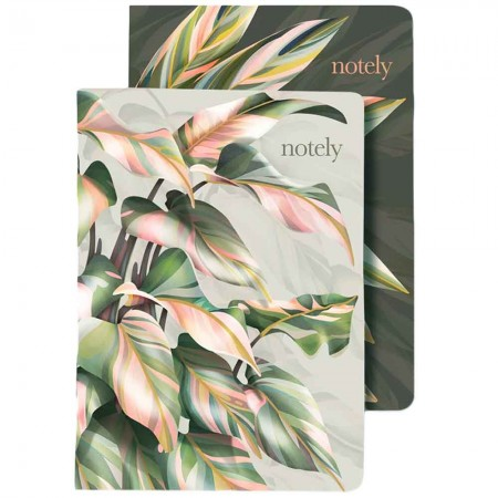 Notely Lined Notebook A5 - Sara Turner (2pk)