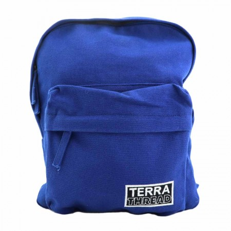 Terra Thread Organic Cotton Zem Mini Backpack - Blue