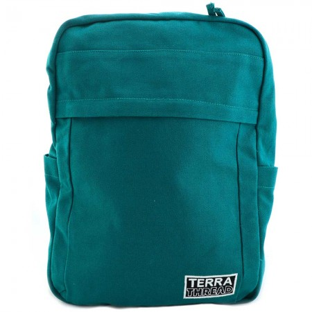 Terra Thread Organic Cotton Earth Backpack - Teal