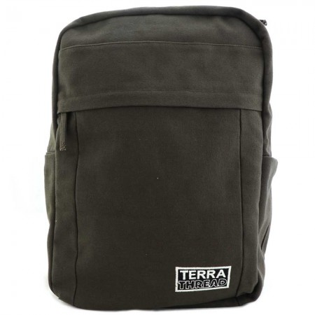 Terra Thread Organic Cotton Earth Backpack - Brown