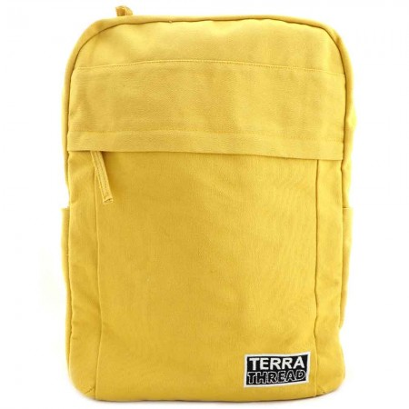 Terra Thread Organic Cotton Earth Backpack - Mustard