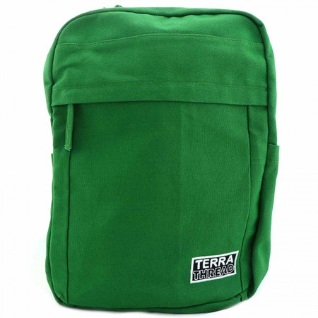 Terra Thread Organic Cotton Earth Backpack - Green