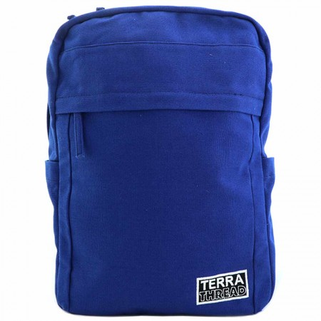 Terra Thread Organic Cotton Earth Backpack - Blue