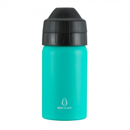 EcoCocoon Stainless Steel Water Bottle 350ml - Emerald Green