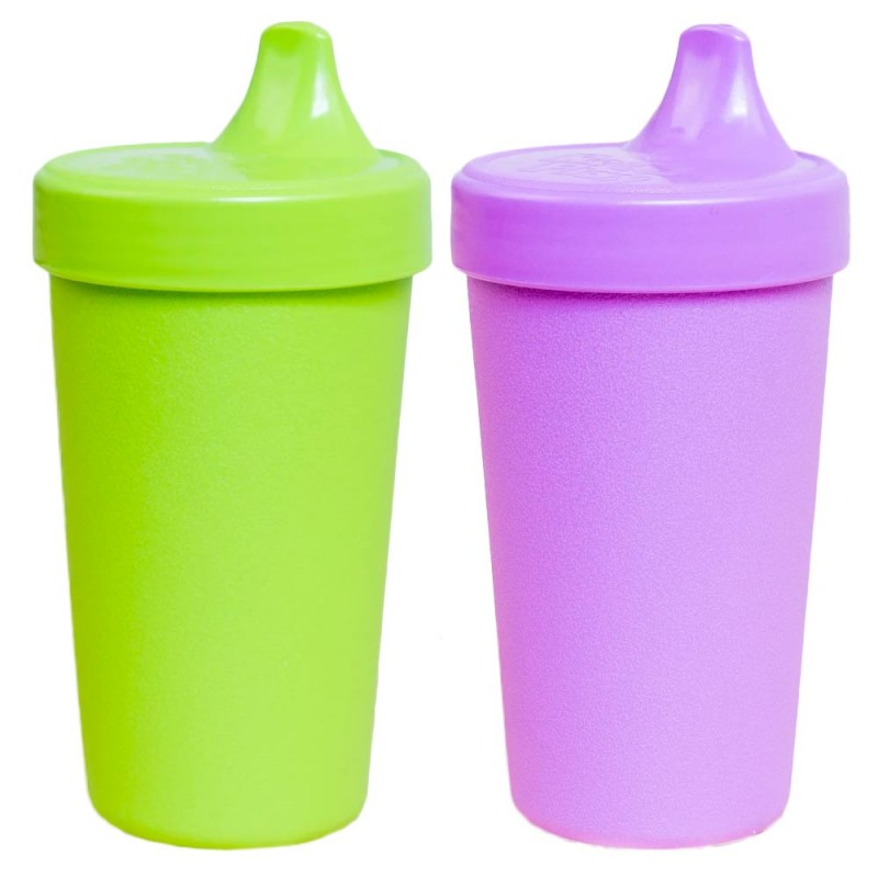 Re-Play Recycled Sippy Cup 2pk - Purple Green