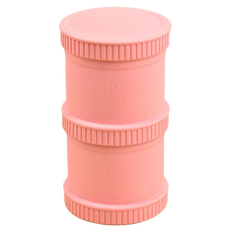 Re-Play Recycled Snack Stack Pods - Baby Pink