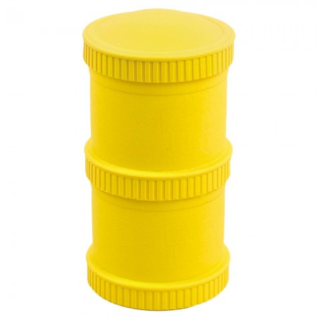 Re-Play Recycled Snack Stack Pods - Yellow