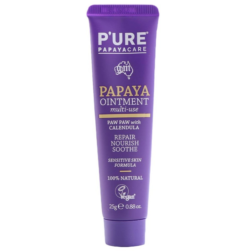 P'ure Papayacare Papaya Ointment Paw Paw with Calendula 25g