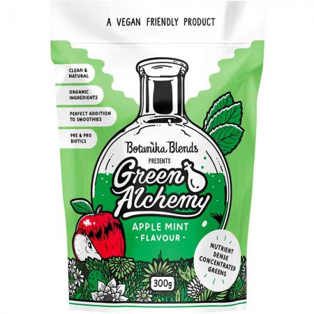 Botanika Blends Green Alchemy Nutrient Dense Greens 300g - Apple Mint