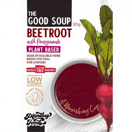 Plantasy Foods The Good Soup Began 30g - Beetroot Pomegranate