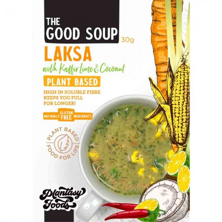 Plantasy Foods The Good Soup Vegan 30g - Laksa with Kaffir Lime Coconut