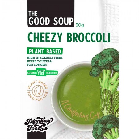 Plantasy Foods The Good Soup Vegan 30g - Cheezy Broccoli