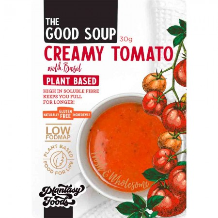 Plantasy Foods The Good Soup Vegan 30g - Creamy Tomato Basil
