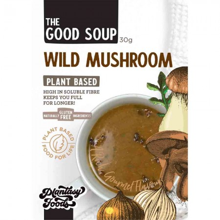 Plantasy Foods The Good Soup Vegan 30g - Wild Mushroom