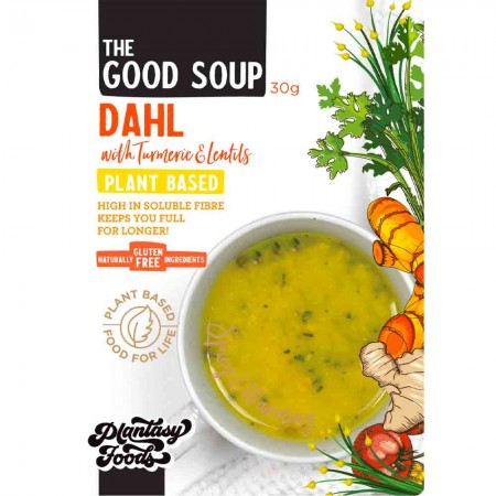 Plantasy Foods The Good Soup Vegan 30g - Dahl with Turmeric Lentils